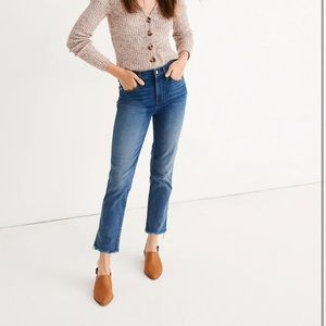 Madewell Stovepipe Straight Jeans